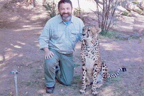Gary and the Mia the Cheetah